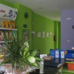 Centro veterinario en Valladolid Acumás. terapias holísticas veterinarias. Entrada