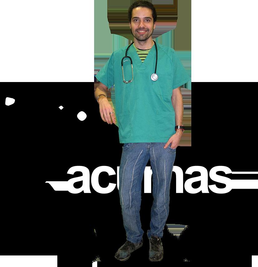 Carlos Sastre .Centro veterinario en Valladolid Acumas. terapias holísticas veterinarias.